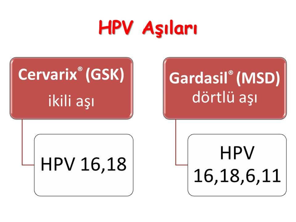 HPV Aşıları