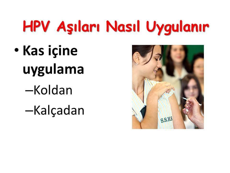 HPV Aşıları Nasıl Uygulanır