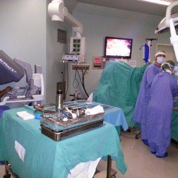 robotik cerrahi esnasında